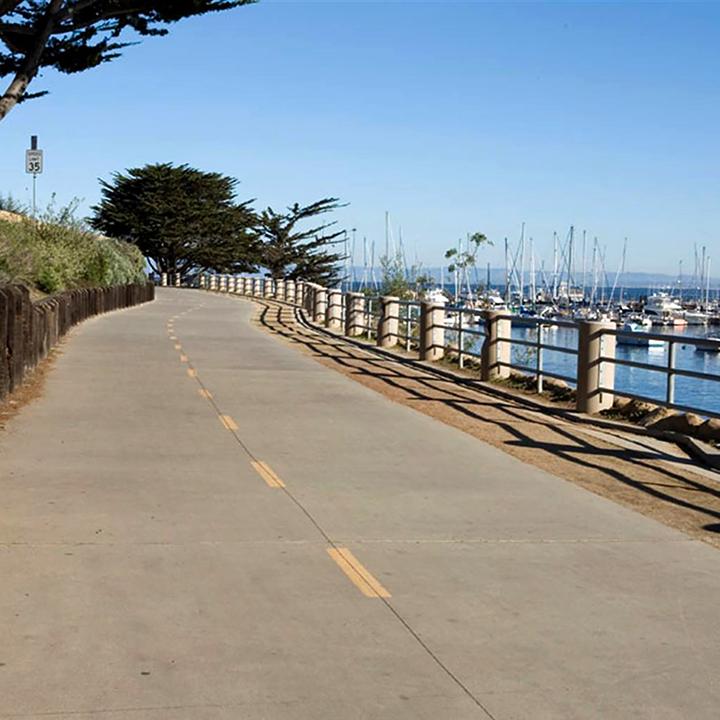 Monterey Rec Trail Presidio Curve