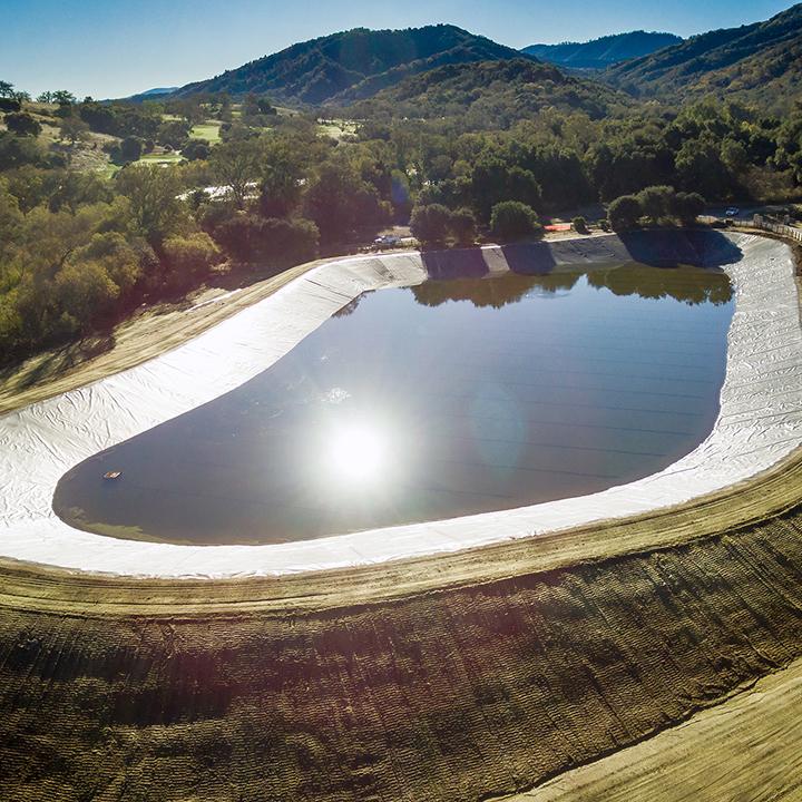 Santa Lucia Preserve Reclamation Pond